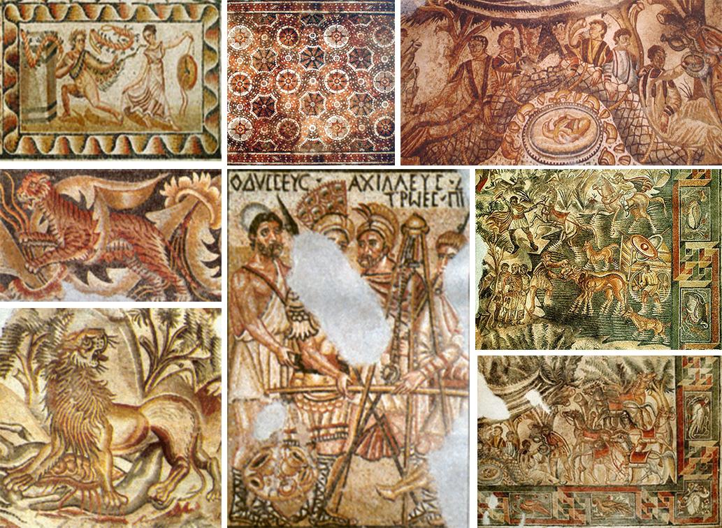 Particolare dei Mosaici