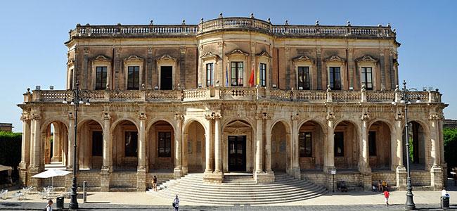 Palazzo Ducezio sede del Municipio
